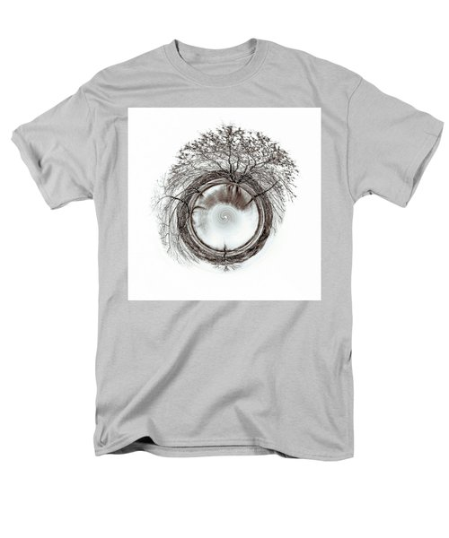Men's T-Shirt  (Regular Fit) featuring the photograph Circle Of Trees by Wade Brooks