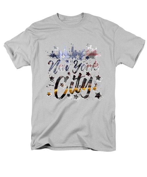 City-art Nyc Composing - Typography Men's T-Shirt  (Regular Fit)