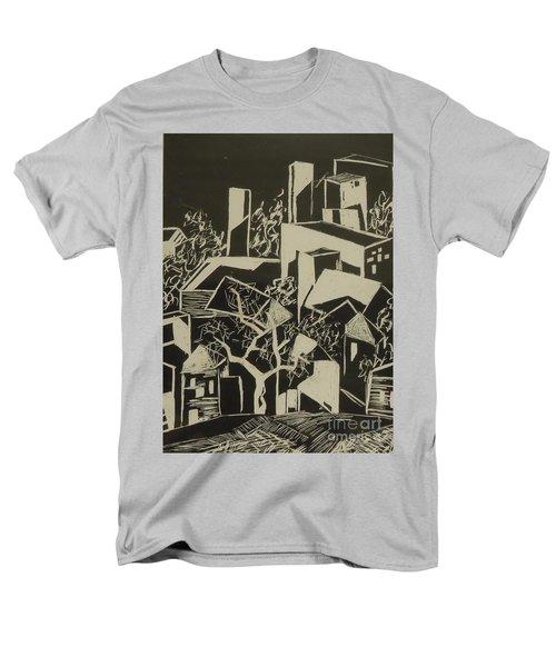 City By Moonlight - Sold Men's T-Shirt  (Regular Fit) by Judith Espinoza