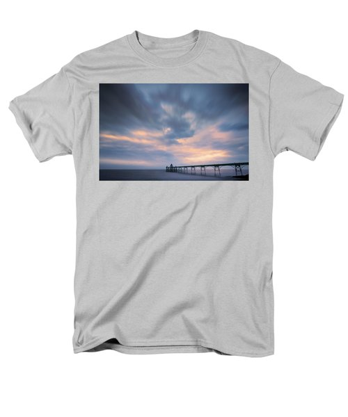 Clevedon Pier Men's T-Shirt  (Regular Fit) by Dominique Dubied