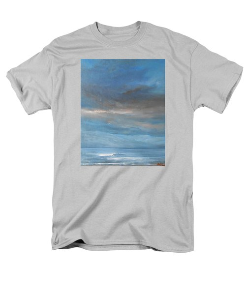 Men's T-Shirt  (Regular Fit) featuring the painting Close Of Day by Jane See