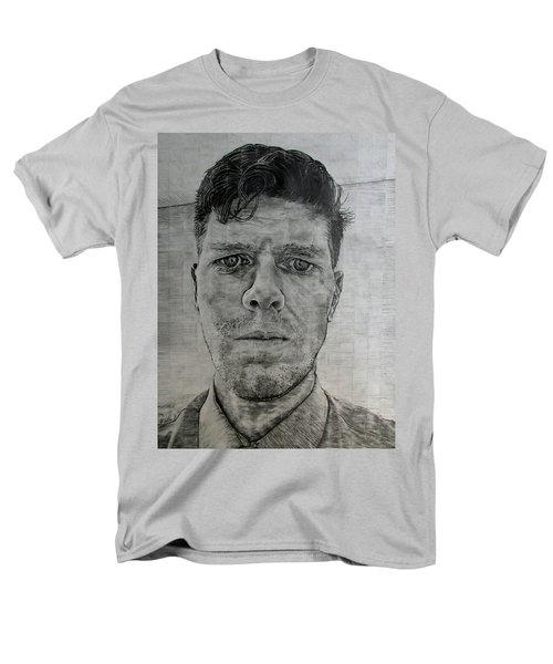 Close Self Portrait Men's T-Shirt  (Regular Fit) by Denny Morreale