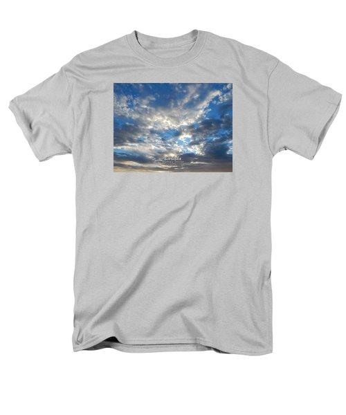 Clouds #4049 Men's T-Shirt  (Regular Fit) by Barbara Tristan