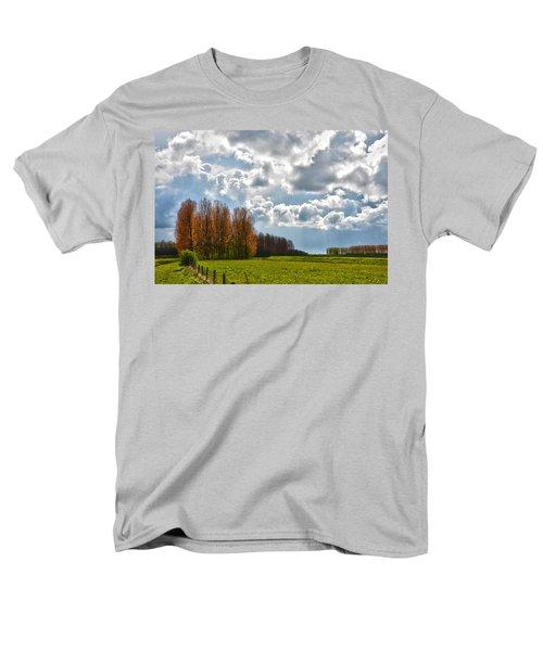 Clouds Over Voorne Men's T-Shirt  (Regular Fit) by Frans Blok