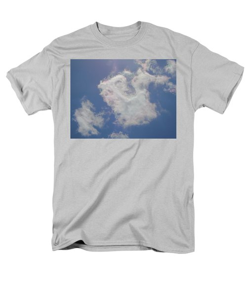 Clouds Rainbow Reflections Men's T-Shirt  (Regular Fit) by Cindy Croal