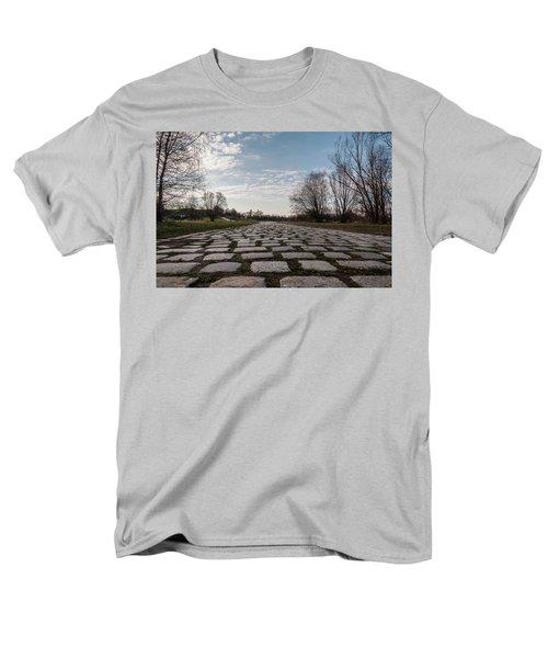 Cobble-stones Men's T-Shirt  (Regular Fit) by Sergey Simanovsky