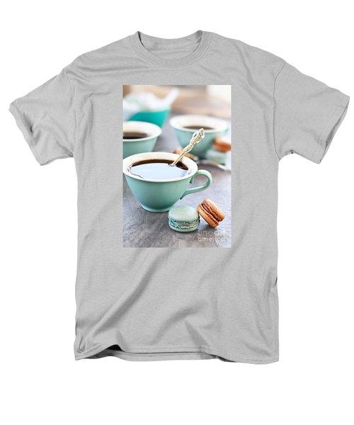 Coffee And Macarons Men's T-Shirt  (Regular Fit)