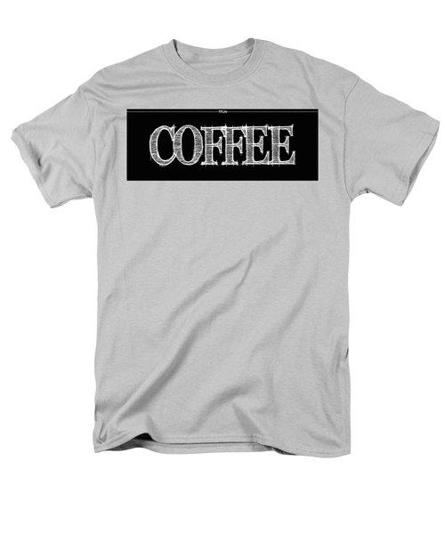 Coffee Fill Line Mug Men's T-Shirt  (Regular Fit) by Robert J Sadler