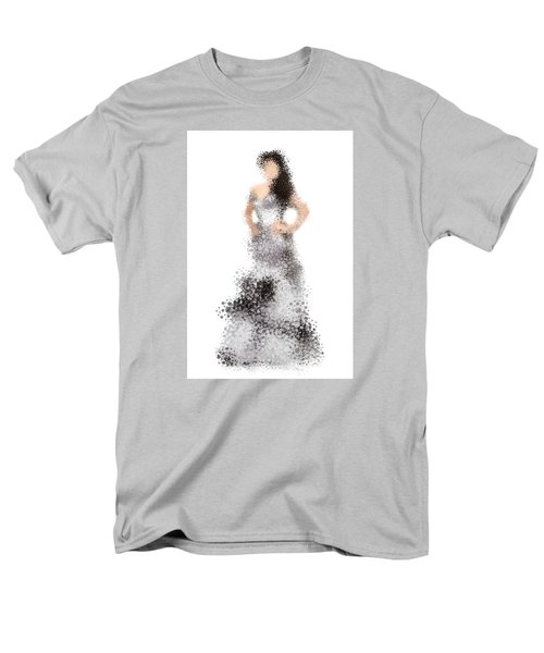Men's T-Shirt  (Regular Fit) featuring the digital art Collette by Nancy Levan