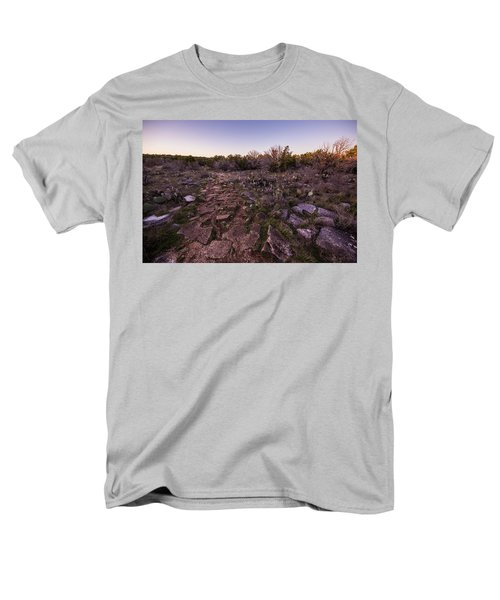 Colorado Bend State Park Gorman Falls Trail #1 Men's T-Shirt  (Regular Fit) by Micah Goff