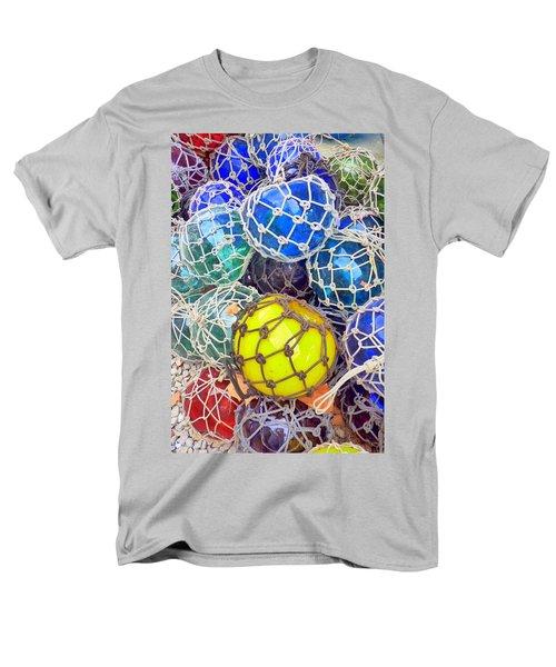 Colorful Glass Balls Men's T-Shirt  (Regular Fit) by Carla Parris