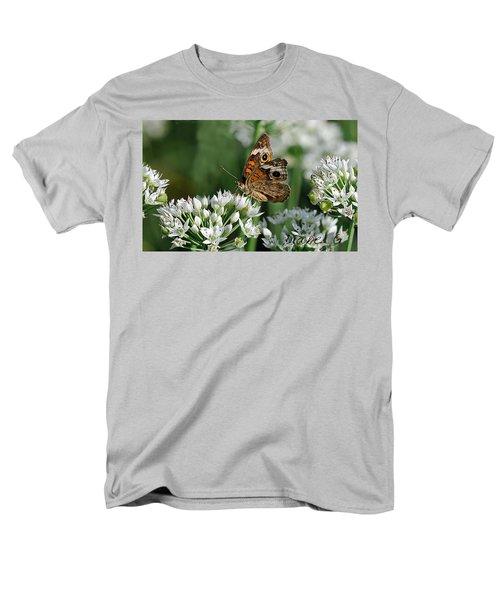 Common Buckeye Butterfly Men's T-Shirt  (Regular Fit) by Diane Giurco