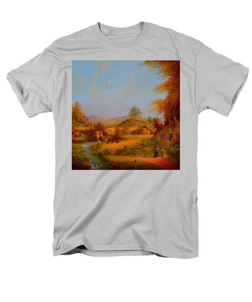 Concerning Hobbits Men's T-Shirt  (Regular Fit) by Joe Gilronan