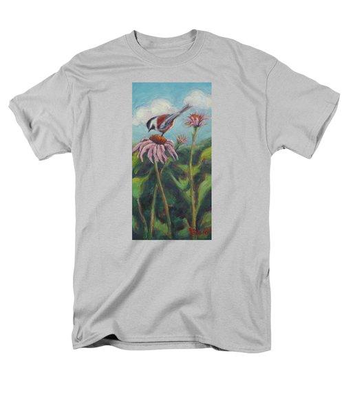 Coneflower Peep Men's T-Shirt  (Regular Fit)