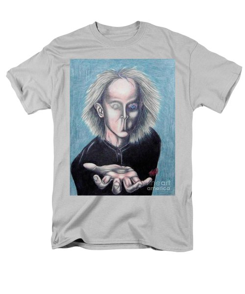 Men's T-Shirt  (Regular Fit) featuring the drawing Consciousness by Michael  TMAD Finney