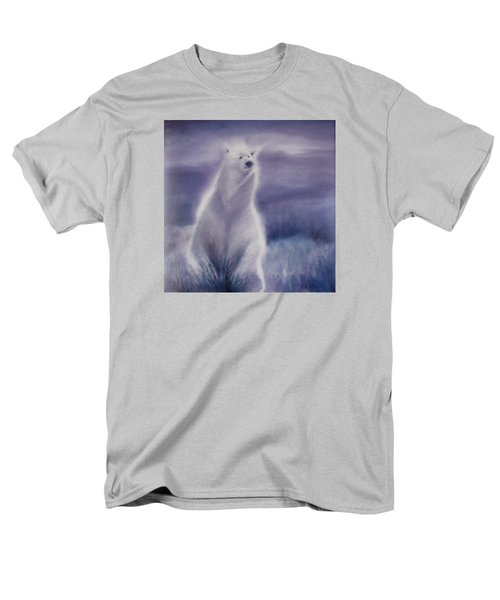 Men's T-Shirt  (Regular Fit) featuring the painting Cool Bear by Allison Ashton