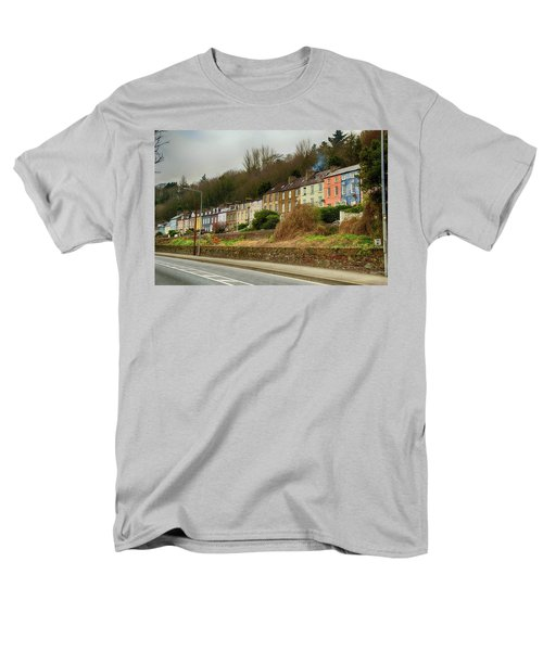 Men's T-Shirt  (Regular Fit) featuring the photograph Cork Row Houses by Marie Leslie