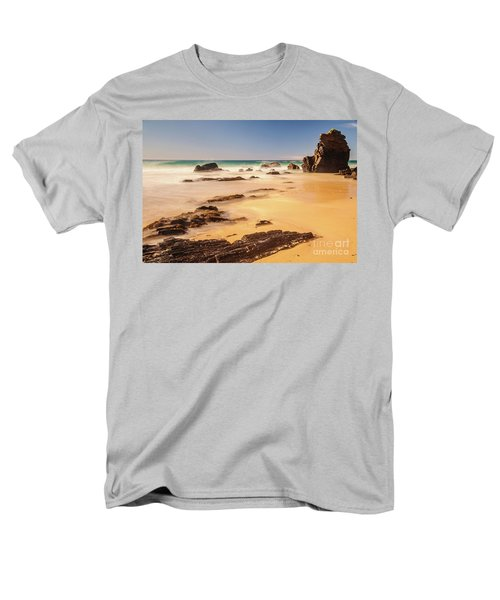 Corunna Point Beach Men's T-Shirt  (Regular Fit) by Werner Padarin