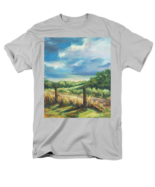Country Road Men's T-Shirt  (Regular Fit) by Rick Nederlof