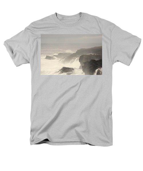 Crashing Waves Men's T-Shirt  (Regular Fit) by Angi Parks