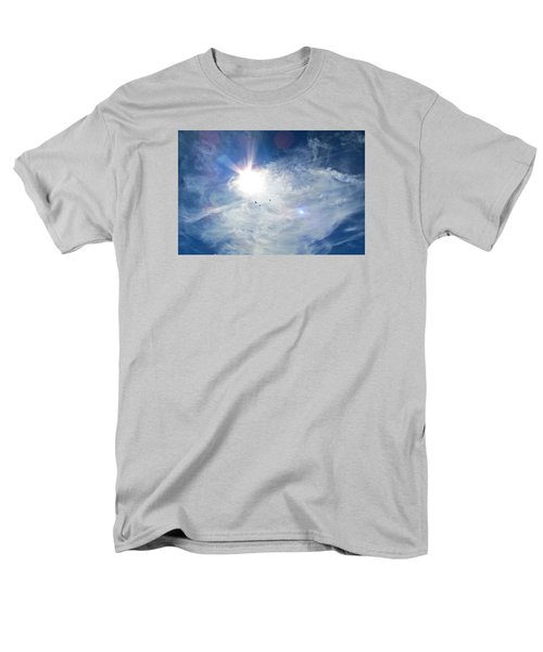 Men's T-Shirt  (Regular Fit) featuring the photograph Crows Above by Brenda Pressnall
