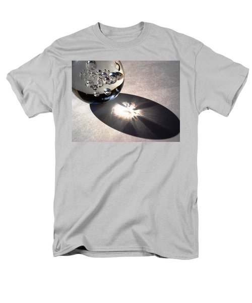 Crystal Ball With Trapped Air Bubbles Men's T-Shirt  (Regular Fit) by Sumit Mehndiratta