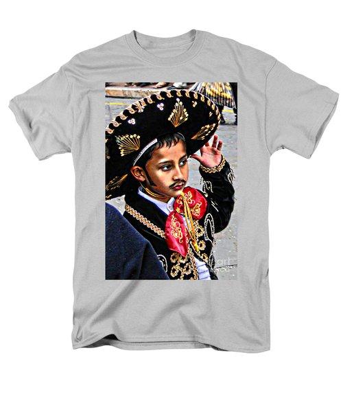 Men's T-Shirt  (Regular Fit) featuring the photograph Cuenca Kids 897 by Al Bourassa