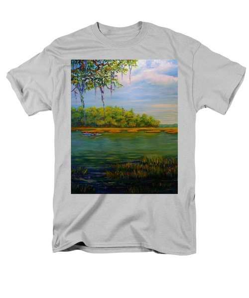 Current Events Men's T-Shirt  (Regular Fit) by Dorothy Allston Rogers