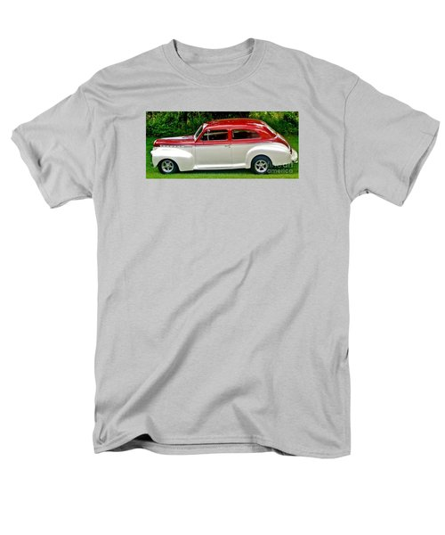 Customized Forty One Chevy Hot Rod Men's T-Shirt  (Regular Fit) by Marsha Heiken