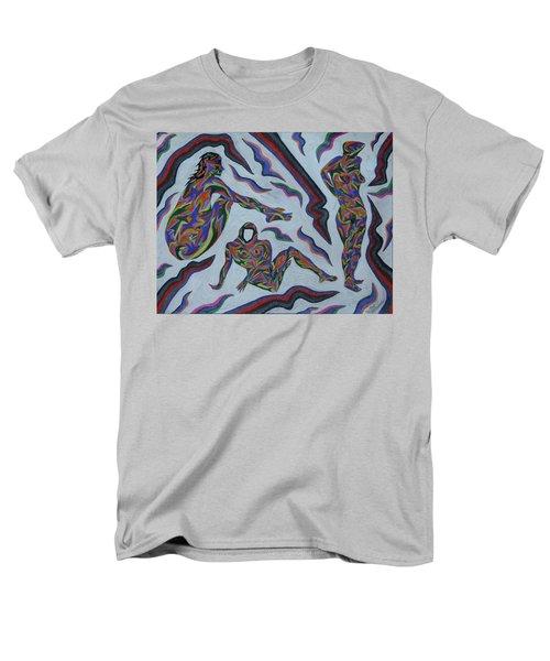 Cyber Gestes  Men's T-Shirt  (Regular Fit) by Robert SORENSEN