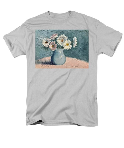 Daisies Men's T-Shirt  (Regular Fit) by Janet King