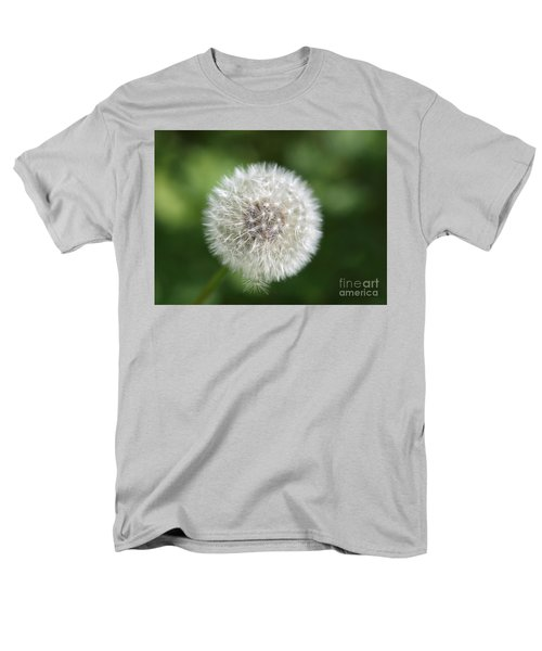 Dandelion - Poof Men's T-Shirt  (Regular Fit) by Susan Dimitrakopoulos