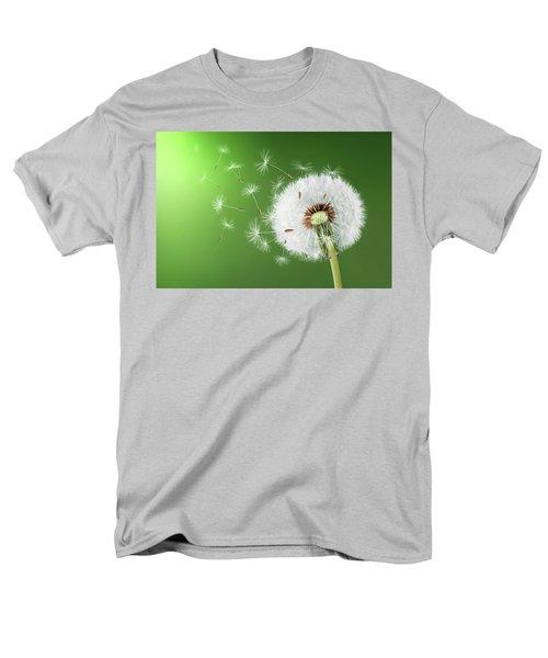 Men's T-Shirt  (Regular Fit) featuring the photograph Dandelion Seeds by Bess Hamiti