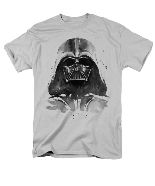 Darth Vader Watercolor Men's T-Shirt  (Regular Fit) by Olga Shvartsur