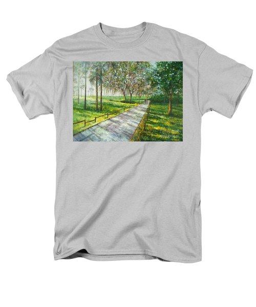 Dayspring Retreat Men's T-Shirt  (Regular Fit) by Lou Ann Bagnall