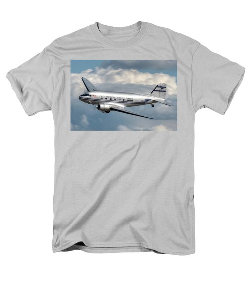 Men's T-Shirt  (Regular Fit) featuring the photograph Dc-3 by Jeff Cook