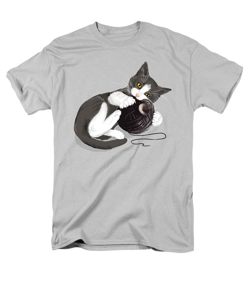 Death Star Kitty Men's T-Shirt  (Regular Fit)