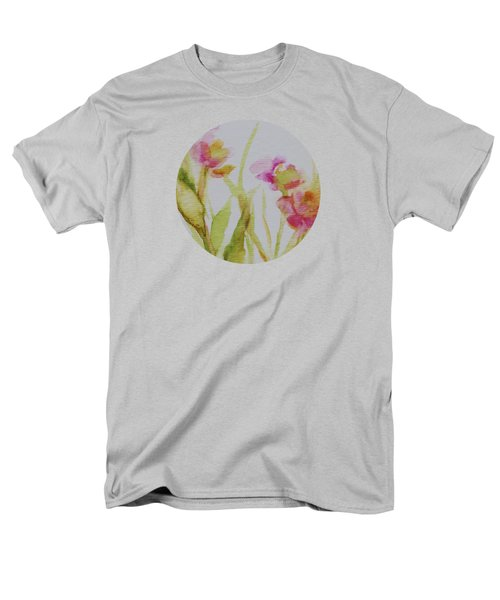 Delicate Blossoms Men's T-Shirt  (Regular Fit) by Mary Wolf