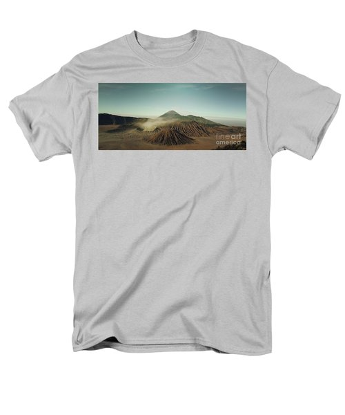 Men's T-Shirt  (Regular Fit) featuring the photograph Desert Mountain  by MGL Meiklejohn Graphics Licensing