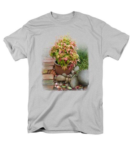 Dew On Leaves Men's T-Shirt  (Regular Fit) by Ivana Westin