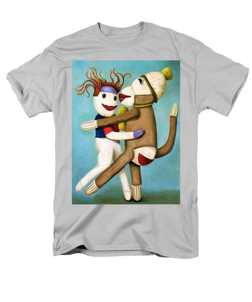 Dirty Socks Dancing The Tango Men's T-Shirt  (Regular Fit) by Leah Saulnier The Painting Maniac
