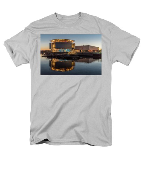 Men's T-Shirt  (Regular Fit) featuring the photograph Discovery World by Randy Scherkenbach