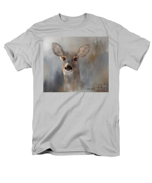 Doe Eyes Men's T-Shirt  (Regular Fit) by Kathy Russell