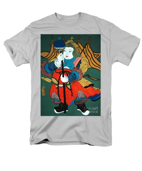 Men's T-Shirt  (Regular Fit) featuring the painting Door Guard No.2 by Fei A