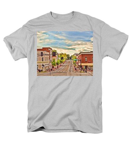 Downtown Blacksburg Men's T-Shirt  (Regular Fit) by Kerri Farley