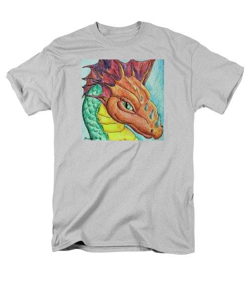 Dragon Portrait Men's T-Shirt  (Regular Fit) by Yulia Kazansky