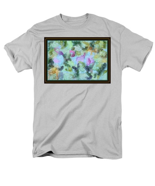 Men's T-Shirt  (Regular Fit) featuring the mixed media Dream Bigger by Trish Tritz