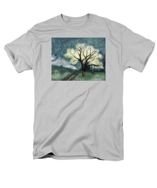 Men's T-Shirt  (Regular Fit) featuring the painting Dream Tree by Annette Berglund
