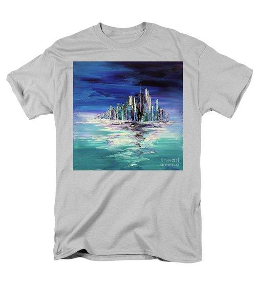 Dreamland Isle Men's T-Shirt  (Regular Fit) by Tatiana Iliina