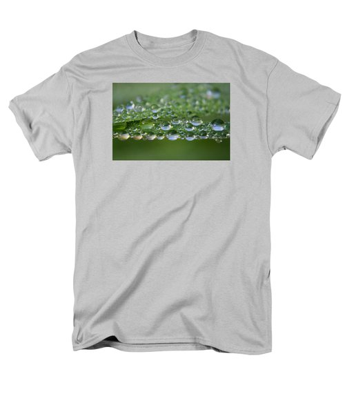 Men's T-Shirt  (Regular Fit) featuring the photograph Droplets by Adria Trail